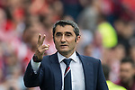Coach Ernesto Valverde Tejedor of Athletic Club reacts during their La Liga match between Atletico de Madrid vs Athletic de Bilbao at the Estadio Vicente Calderon on 21 May 2017 in Madrid, Spain. Photo by Diego Gonzalez Souto / Power Sport Images