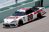 HOMESTEAD, FLORIDA - JUNE 14: Harrison Burton, driver of the #20 DEX Imaging Toyota, races during the NASCAR Xfinity Series Contender Boats 250 at Homestead-Miami Speedway on June 14, 2020 in Homestead, Florida. (Photo by Chris Graythen/Getty Images)