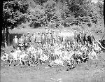 Frederick Stone negative. Pequot Club Clambake. Undated photo.