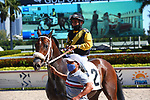 January 23, 2021:  #2 Another Duke, with jockey Paco Lopez on board, breaks his maiden at Gulfstream Park in Hallandale Beach, Florida.  Liz Lamont/Eclipse Sportswire/CSM