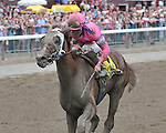 8.21 Blind Luck wins the Grade 1 Alabama with Joel Rosario up