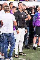 Real Madrid's player Cristiano Ronaldo during the XXXVII Santiago Bernabeu Trophy in Madrid. August 16, Spain. 2016. (ALTERPHOTOS/BorjaB.Hojas) /NORTEPHOTO