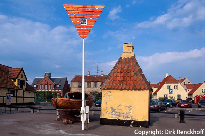 Daenemark, Dragoer bei Kopenhagen, beim Hafen