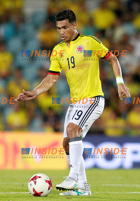 Colombia's Teo Gutierrez during international friendly match. June 13,2017.(ALTERPHOTOS/Acero/Insidefoto)<br /> Camerun - Colombia <br /> Foto Acero/Alterphotos/Insidefoto <br /> ITALY ONLY