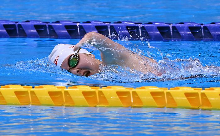 Danielle Dorris, Tokyo 2020 - Para Swimming // Paranatation.<br /> Danielle Dorris competes in the 200m IM S7 // Danielle Dorris participe au 200m IM S7. 08/27/2021.