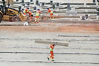 31.01.2020 - Obras do vale do Anhangabaú em SP