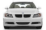 Straight front view of a 2008 BMW 3 Series 328i Sedan