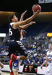 Coronado's Bryce Savoy shoots over Carson defender Jayden Dejoseph during the NIAA Division I state basketball tournament in Reno, Nev. on Thursday, Feb. 25, 2016. Cathleen Allison/Las Vegas Review-Journal