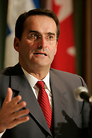 February 28 2005, File Photo, Montreal (Qc) CANADA<br /> <br /> Jean Lapierre, Transport Minister, Canada<br /> photo byYves Provencher / Images Distribution
