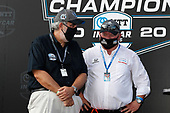 William Croxville of NTT Data and Chip Ganassi