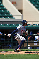 Detroit Tigers Trei Cruz (71) bats during a Florida Instructional League intrasquad game on October 17, 2020 at Joker Marchant Stadium in Lakeland, Florida.  (Mike Janes/Four Seam Images)
