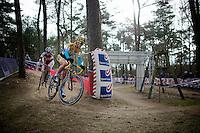 Ellen Van Loy (BEL/Telenet-Fidea) & Sanne Cant (BEL/BKCP-Powerplus)<br /> <br /> Elite Women's Race<br /> Krawatencross<br /> bpost bank trofee
