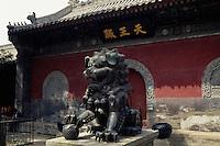 China, Peking, im Fa Yuan Si-Tempel