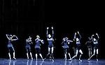 HARK....Choregraphie : GAT Emanuel..Compagnie : Ballet de l Opera National de Paris..Lumiere : GAT Emanuel..Costumes : GAT Emanuel..Avec :..ROMBERG Stephanie..LAMOUREUX Amelie..GRANIER Christelle..HECQUET Laura..PAGLIERO Ludmila..BOULET Marie Solene..CLEMENT Lucie..BARBEAU Marion..COLASANTE Valentine..DILHAC Leila..DURSORT Peggy..RAUX Ninon..VISOCCHI Jennifer..Lieu : Opera Garnier..Ville : Paris..Le : 28 04 2009..© Laurent PAILLIER / www.photosdedanse.com