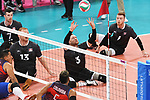 Darek Symonowics, Austin Hinchey, Bryce Foster, and Doug Learoyd, Lima 2019 - Sitting Volleyball // Volleyball assis.<br />