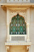 im Jaswant Thanda Mausoleum von Mahraja Jawant Singh II,  Jodhpur (Rajasthan), Indien
