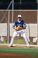 Trey Lafleur during the WWBA World Championship at the Roger Dean Complex on October 18, 2018 in Jupiter, Florida.  Trey Lafleur is an outfielder from Pensacola, Florida who attends J.M. Tate Senior High School and is committed to Mississippi.  (Mike Janes/Four Seam Images)