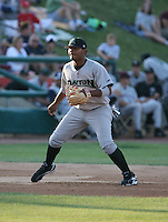Juan Francisco of the Dayton Dragons during the Midwest League All-Star game.  Photo by:  Mike Janes/Four Seam Images