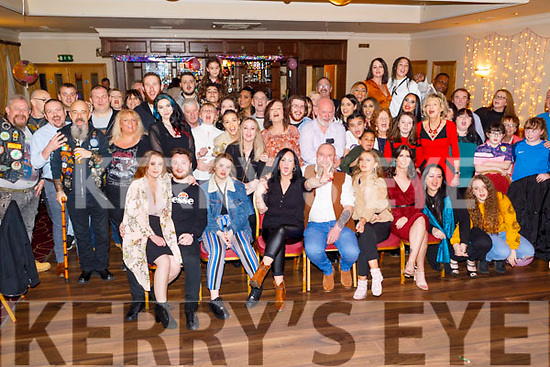 Sharon Brown from Tralee celebrating her 50th birthday in the Kerins O'Rahilly's Clubhouse on Friday.<br /> Seated l to r: Ana Nikora, Lee, Georgia, Sharon, Mike and Eliza Brown and Katie Clarke.
