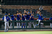 Members of the AZL Cubs during Game Three of the Arizona League Championship Series against the AZL Giants on September 7, 2017 at Scottsdale Stadium in Scottsdale, Arizona. AZL Cubs defeated the AZL Giants 13-3 to win the series two games to one. (Zachary Lucy/Four Seam Images)