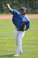 June 18th 2007:  Carlos Marmol of the Chicago Cubs during a game at Wrigley Field in Chicago, IL.  Photo by:  Mike Janes/Four Seam Images
