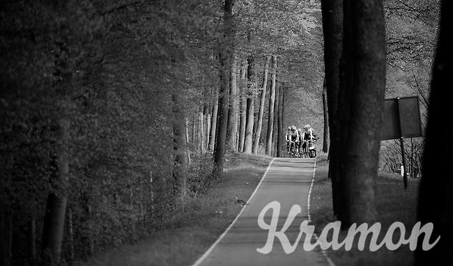 The Netherlands = bike path heaven <br /> <br /> first pre-Giro training ride with Team Trek-Segafredo in Gelderland (The Netherlands)<br /> <br /> 99th Giro d'Italia 2016
