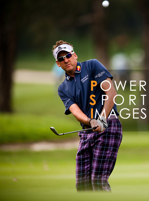 Ian Poulter in action during Round 1 of the UBS Hong Kong Golf Open 2011 at Fanling Golf Course in Hong Kong on 1st December 2011. Photo © Derek Lee / The Power of Sport Images