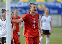 20180302 - LARNACA , CYPRUS : Czech Lucie Vonkova pictured during a women's soccer game between Austria and Czech Republic , on friday 2 March 2018 at the AEK Arena in Larnaca , Cyprus . This is the second game in group B for Austria and Czech Republic during the Cyprus Womens Cup , a prestigious women soccer tournament as a preparation on the World Cup 2019 qualification duels. PHOTO SPORTPIX.BE | DAVID CATRY