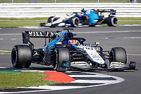 18th July 2021; Silverstone Circuit, Silverstone, Northamptonshire, England; Formula One British Grand Prix, Race Day; The Williams Racing pair of George Russell and Nicholas Latifi