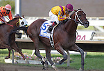 Wilburn, ridden by Corey Nakatani, wins the 2nd running of the Smarty Jones Stakes at  Parx Racing in Bensalem, PA, on September 5, 2011.  (Joan Fairman Kanes/Eclipsesportswire)