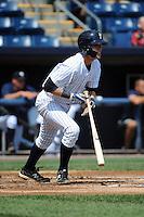Staten Island Yankees infielder Matt Snyder (45) during game against the Auburn Doubledays at Richmond County Bank Ballpark at St.George on August 2, 2012 in Staten Island, NY.  Auburn defeated Staten Island 11-3.  Tomasso DeRosa/Four Seam Images