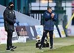 Ross County v St Johnstone…02.01.21   Global Energy Stadium     SPFL<br />Saints manager Callum Davidson applauds his players<br />Picture by Graeme Hart.<br />Copyright Perthshire Picture Agency<br />Tel: 01738 623350  Mobile: 07990 594431