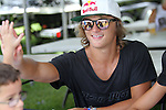 September 13, 2014:  2014 Junior Pro Men's' winner,  Cory Teunissen (AUS) signs autographs at Mills Pond Park in Fort Lauderdale, FL. Liz Lamont/ESW/CSM