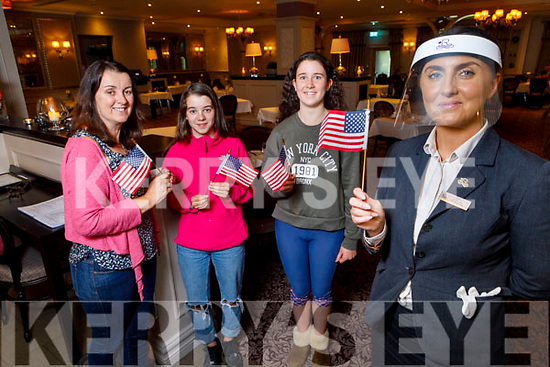 Enjoying the 4th of July celebrations in the Rose Hotel on Saturday.<br />  Front right: Jennifer Dee (Rose Hotel) <br /> Back l to r: Mairead, Caoimhe and Emma Crowley from Beaufort.
