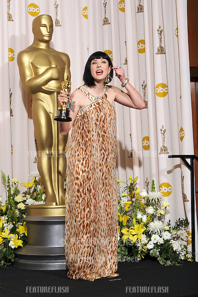 Diablo Cody at the 80th Annual Academy Awards at the Kodak Theatre, Hollywood..February 24, 2008 Los Angeles, CA.Picture: Paul Smith / Featureflash