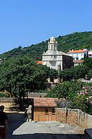 griechische Kirche in Cargese, Korsika, Frankreich