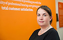 Amplifon audiologist Lynsey McDonald<br /> <br /> <br /> 29/06/2016    011_amplifon  <br /> Copyright  Pic : James Stewart   <br /> James Stewart Photography, 19 Carronlea Drive, Falkirk. FK2 8DN  <br /> Vat Reg No. 607 6932 25  <br /> Mobile : +44 (0)7721 416997  <br /> E-mail  :  jim@jspa.co.uk  <br /> If you require further information then contact Jim Stewart on any of the numbers above ...