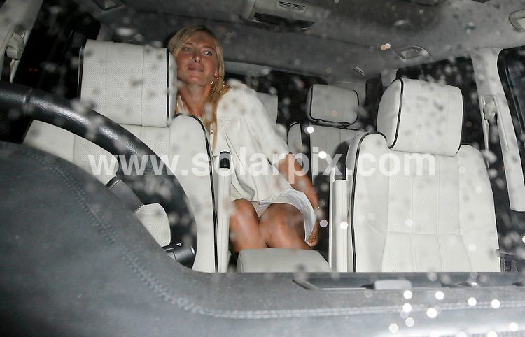 **ALL ROUND PICTURES FROM SOLARPIX.COM**.**WORLDWIDE SYNDICATION RIGHTS**.Richard Branson's pre-Wimbledon party @ the Roof Gardens, Kensington 21.06.2007..This pic: Maria Sharapova..JOB REF:       SSD     DATE: 22.06.2007.**MUST CREDIT SOLARPIX.COM OR DOUBLE FEE WILL BE CHARGED* *UNDER NO CIRCUMSTANCES IS THIS IMAGE TO BE REPRODUCED FOR ANY ONLINE EDITION WITHOUT PRIOR PERMISSION*