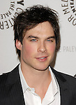 Ian Somerhalder at the Twenty-Seventh Annual PaleyFest: William S. Paley Television Festival honoring the cast of  The Vampire Diaries at The  Saban Theatre in Beverly Hills, California on March 06,2010                                                                   Copyright 2010  DVS / RockinExposures