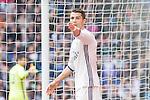 Cristiano Ronaldo of Real Madrid reacts during the match of La Liga between Real Madrid and RCE Espanyol at Santiago Bernabeu  Stadium  in Madrid , Spain. February 18, 2016. (ALTERPHOTOS/Rodrigo Jimenez)