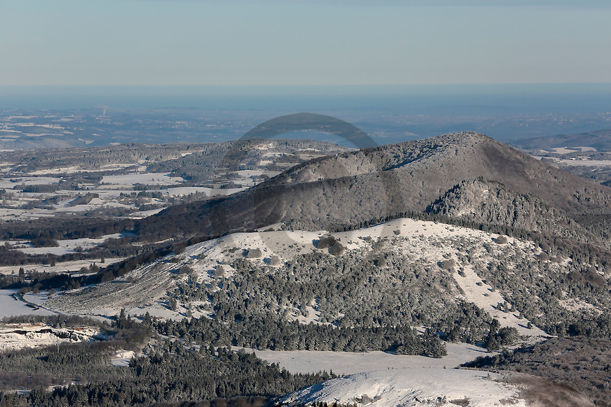 29/12/14 - CHAINE DES PUYS - PUY DE DOME  - Photo Jerome CHABANNE