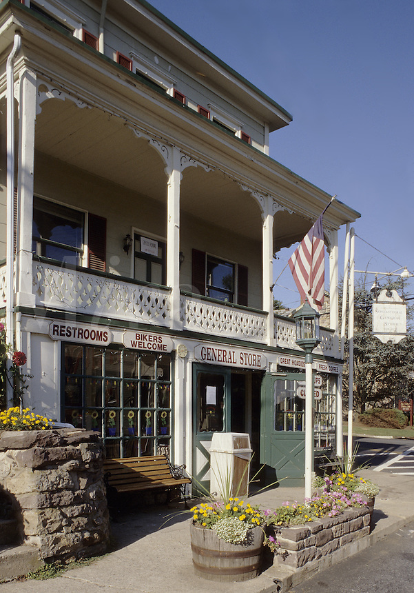 Sargeantville, New Jersey.  The historic general store dates from 1847..