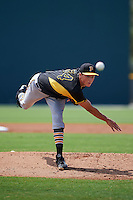 Pittsburgh Pirates pitcher Tyler Glasnow (34) during an instructional league intrasquad black and gold game on October 2, 2015 at Pirate City in Bradenton, Florida.  (Mike Janes/Four Seam Images)