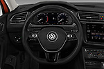 Car pictures of steering wheel view of a 2018 Volkswagen Tiguan SEL 4Motion 5 Door SUV