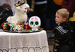 An unidentified trick-or-treater participates in the Carson City Boo-nanza at the Community Center on Wednesday, Oct. 25, 2017. <br /> Photo by Cathleen Allison/Nevada Momentum