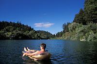 California, Russian River, On the river at Monte Rio