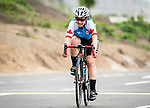 Lima, Peru -  1/September/2019 -   Marie-Claude Molnar competes in the womens cycling C 4-5 road race at the Parapan Am Games in Lima, Peru. Photo: Dave Holland/Canadian Paralympic Committee.