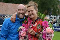 AATSEN: WEIDUM: 25-08-2021, Dames PC, Manon Scheepstra en Daniël Iseger, ©foto Martin de Jong