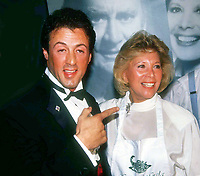 Sylvester Stallone Dinah Shore 1988<br /> Photo by Adam Scull/PHOTOlink