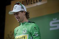 green for Peter Sagan (SVK/Cannondale)<br /> <br /> stage 9: TTT Vannes - Plumelec (28km)<br /> 2015 Tour de France